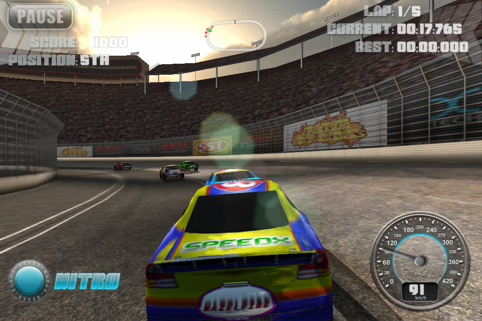 Screenshot N.O.S. Car Speedrace